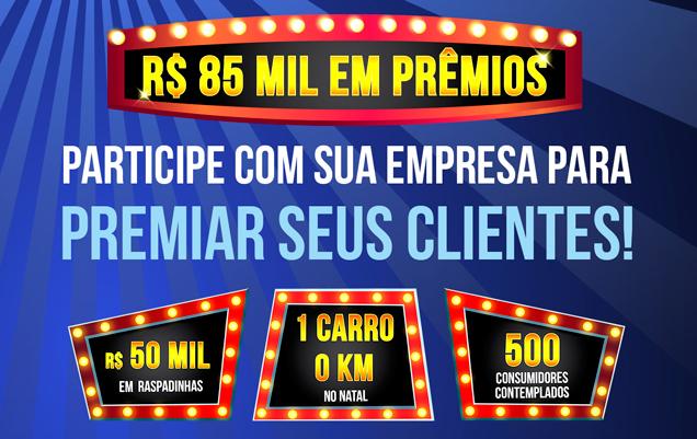 b98287ee64 Compras Premiadas 2019 irá distribuir R  85 mil em prêmios ...